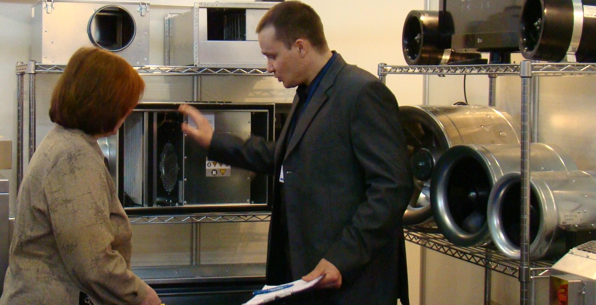 on-line подбор вентиляционного оборудования  и кондиционеров