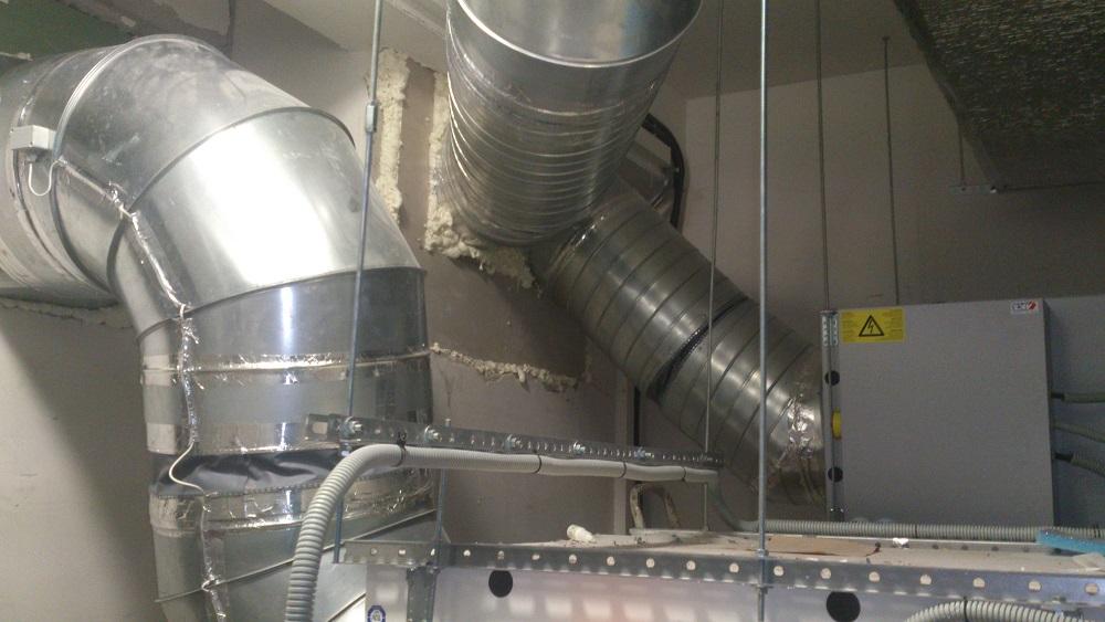промышленная вентиляция в