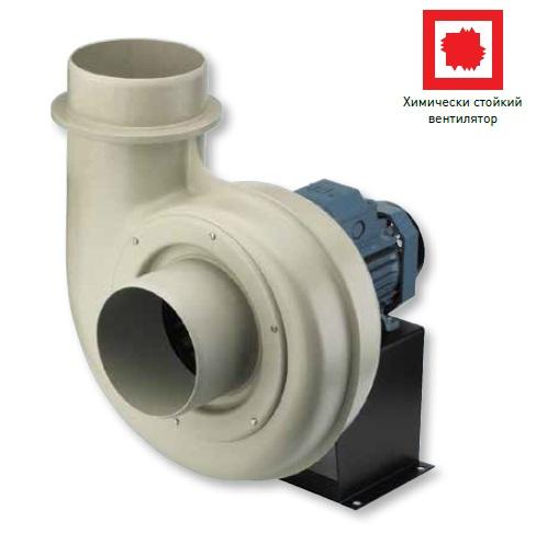 Пластиковый химически стойкий вентилятор CMPT