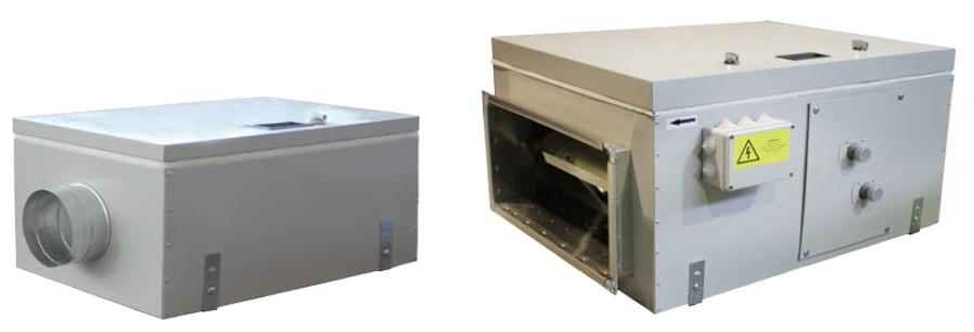 Вентиляционные приточные установки ВПУ