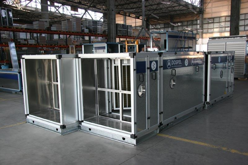 Вентиляционные установки Dospel завод в Польше