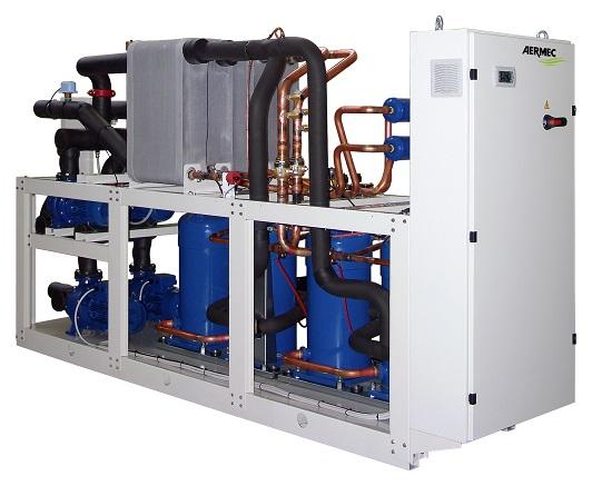 Чиллер Aermec NXW c водяным конденсатором