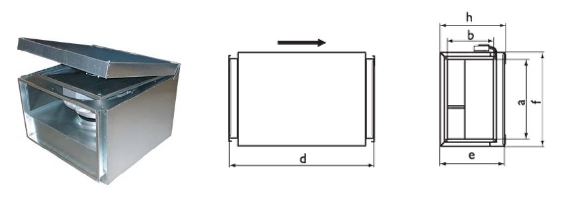 шумоизолированный вентилятор rkbi