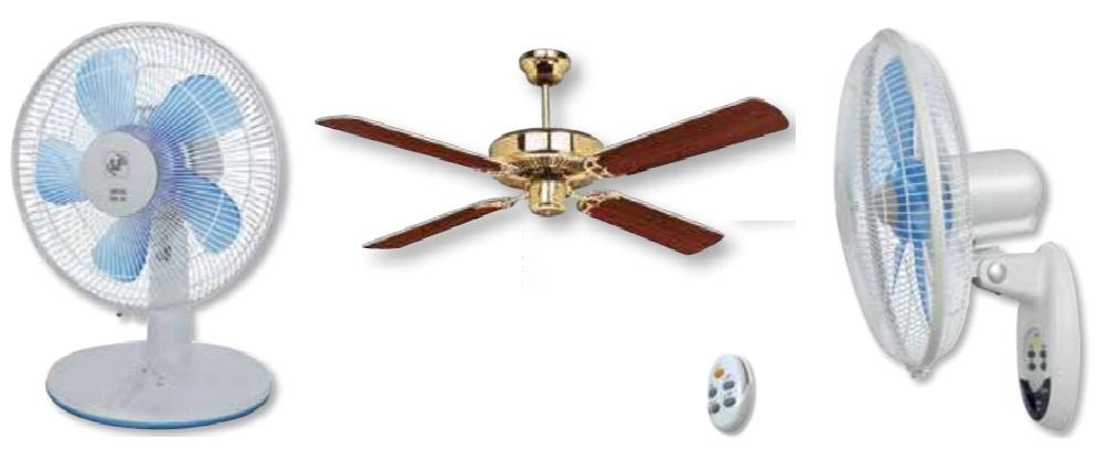 Напольные, настольные, настенные и потолочные вентиляторы Soler&Palau