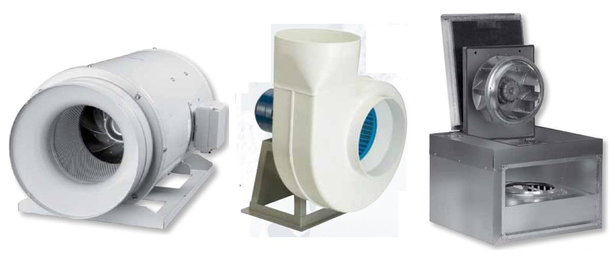 Канальные и осевые и крышные вентиляторы Soler&Palau