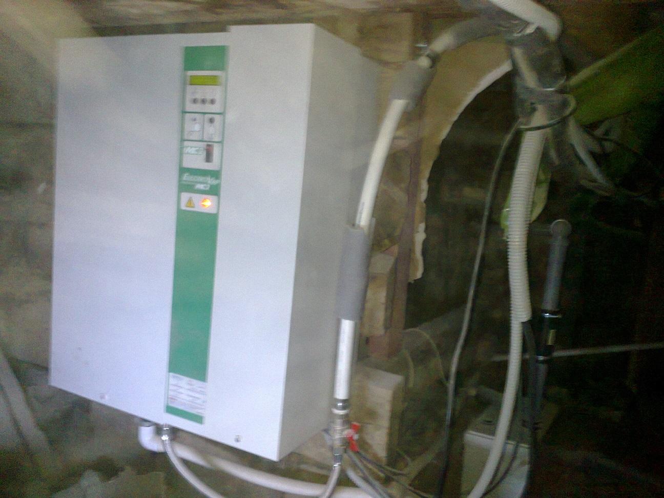 Пароувлажнитель воздуха на приточной системе Музей Рериха в Санкт-Петербурге. Фотография 2014 год